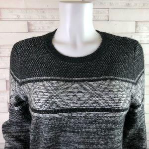 GAP Sweaters - New! Gap Crew Neck Cable Knit Sweater Black Medium